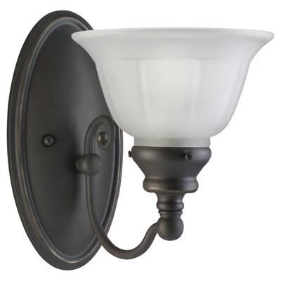 Sea Gull Lighting Canterbury 1 Light Wall Sconce