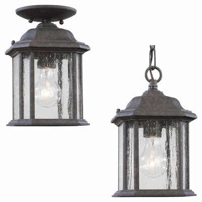 Sea Gull Lighting Kent Outdoor Pendant Lantern