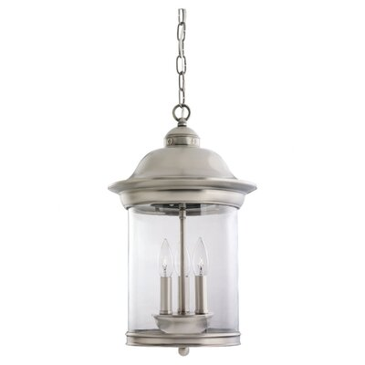 Sea Gull Lighting Hermitage 3 Light Foyer Pendant