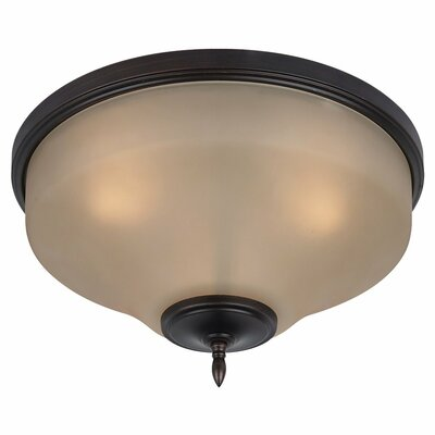 Sea Gull Lighting Montreal 3 Light Flush Mount