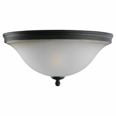 Sea Gull Lighting Gladstone 2 Light Flush Mount