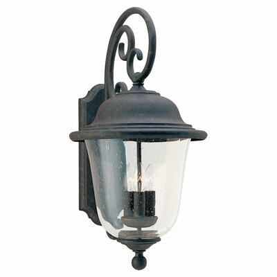 Sea Gull Lighting Trafalgar 3 Light Outdoor Wall Lantern