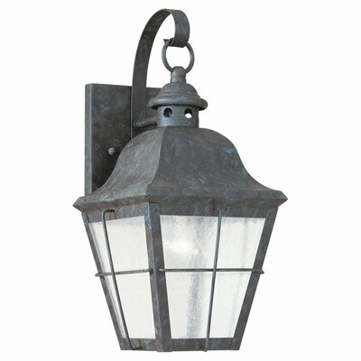 Sea Gull Lighting Colonial Styling 1 Light Outdoor Wall Lantern