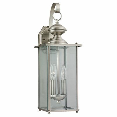Sea Gull Lighting Jamestowne 2 Light Outdoor Wall Lantern