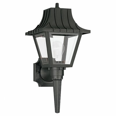 Sea Gull Lighting Outdoor 1 Light Wall Lantern