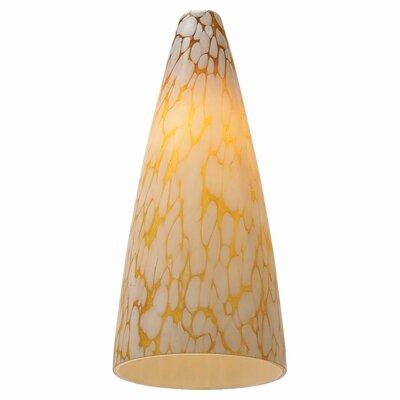 "Sea Gull Lighting 4.5"" Ambiance Transitions Glass Bell Pendant Shade"