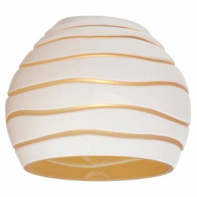 "Sea Gull Lighting 3.63"" Ambiance Transitions Glass Pendant Shade"