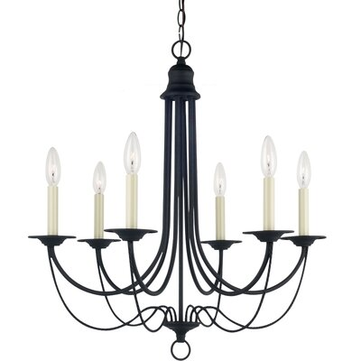 Plymouth 6 Light Chandelier