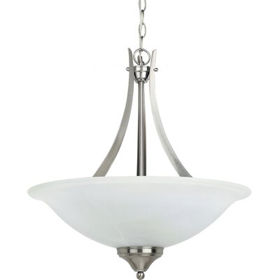 Brockton 3 Light Up Light Pendant