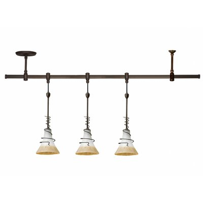 Sea Gull Lighting Saratoga 3 Light Pendant Rail Track Light Kit