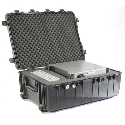 "Pelican Products Transport Case with Foam: 27.13"" x 37.5"" x 14.37"""