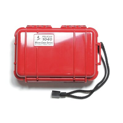 "Pelican Products Micro Case: 5"" x 7.5"" x 2.13"""