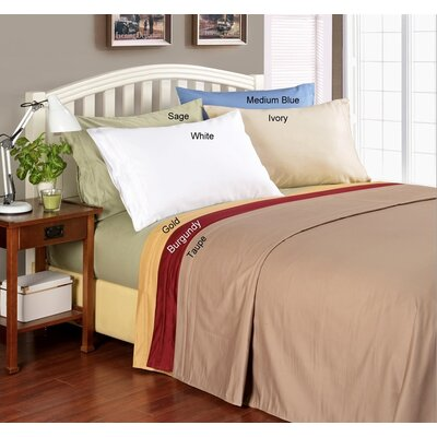 Simple Luxury 1000 Thread Count Egyptian Cotton Solid Sheet Set