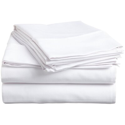 Simple Luxury 300 Thread Count Egyptian Cotton Solid Sheet Set