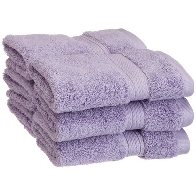 Simple Luxury Superior 900 GSM Egyptian Cotton 6-Piece Face Towel Set