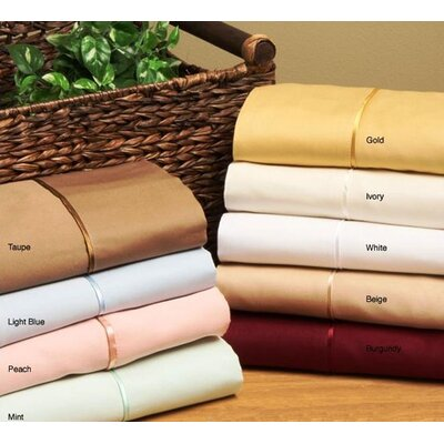 Simple Luxury 300 Thread Count Solid Sheet Set