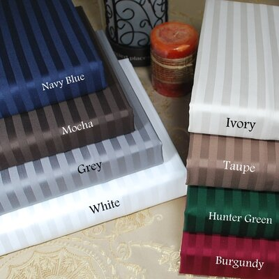 400 Thread Count Egyptian Cotton Stripe Sheet Set