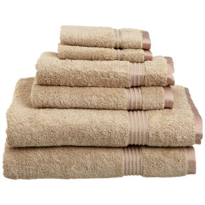 Egyptian Cotton 600gsm 6 Piece Towel Set