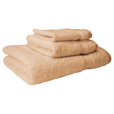 Simple Luxury Egyptian 3 Piece Towel Set