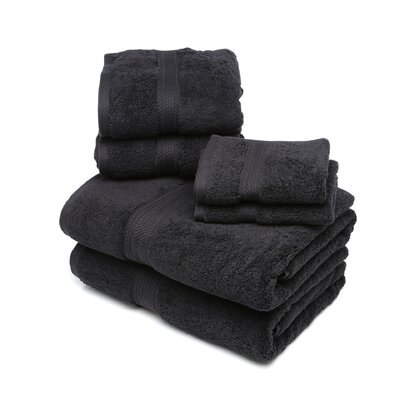Simple Luxury Egyptian Cotton 900gsm 6 Piece Towel Set