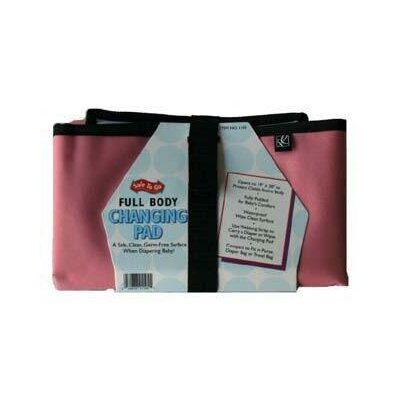 J.L. Childress Full Body Changing Pad in Pink