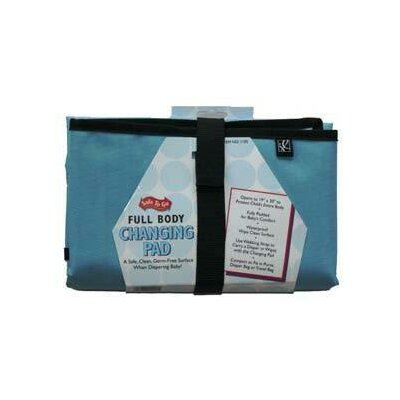 J.L. Childress Full Body Changing Pad in Light Blue