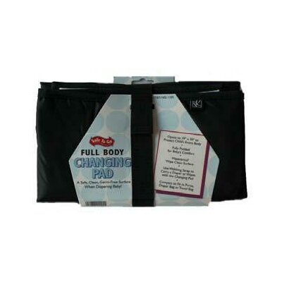 J.L. Childress Full Body Changing Pad in Black