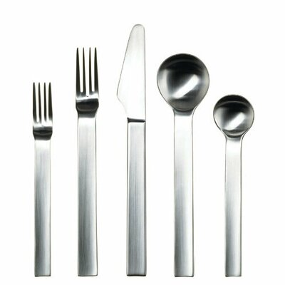 Gourmet Settings Continental 20 Piece Pure Flatware Set