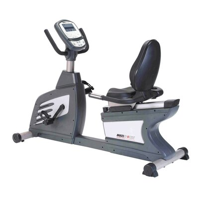 Commercial Self Generating Recumbent Bike
