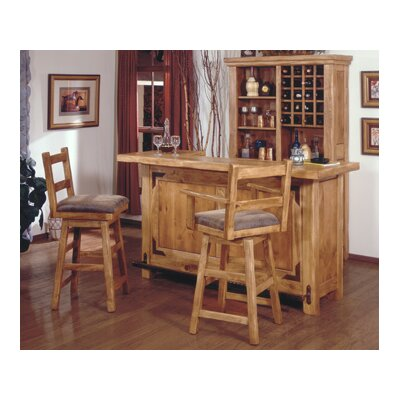 Artisan Home Furniture Lodge 100 Home Bar Set