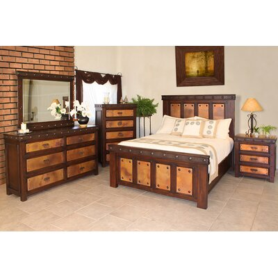 Artisan Home Furniture Copper Canyon Panel Bedroom Collection