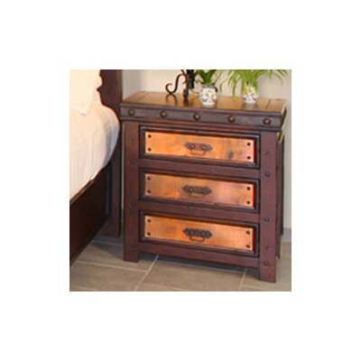 Artisan Home Furniture Copper Canyon 3 Drawer Nightstand