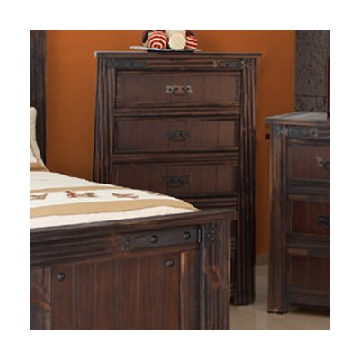 Cordoba 1080 Distressed 5 Drawer Chest