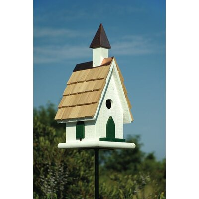 Heartwood Country Church Bird House