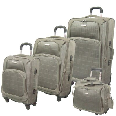 McBrine Luggage Vivanti Series 3 Piece Upright Luggage Set