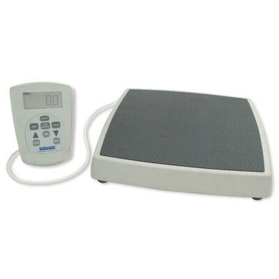 Healthometer Digital 2-Piece Platform Scale in Light Gray / Black