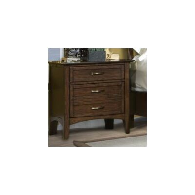 Stanford Heights 3 Drawer Nightstand