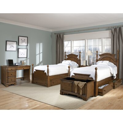 hunter 39 s ridge four poster bedroom collection wayfair
