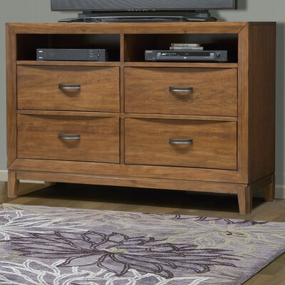 Somerset 4 Drawer Media Chest