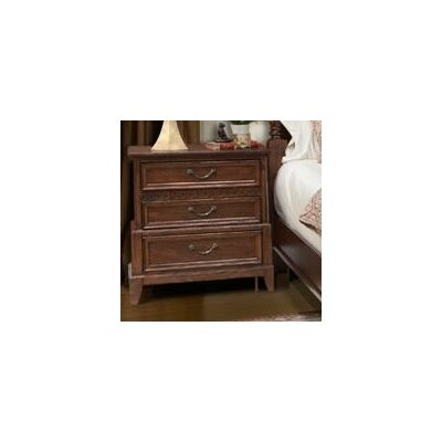 Port Royal 3 Drawer Nightstand