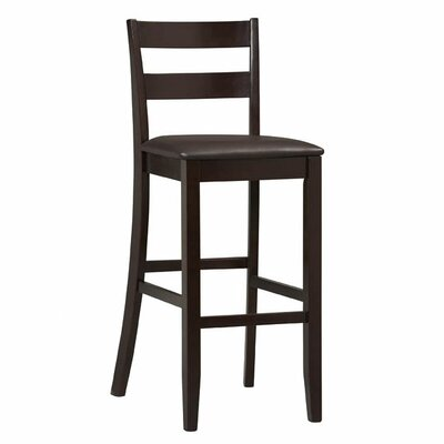 "<strong>Linon</strong> Triena Soho 30"" Bar Stool with Cushion"