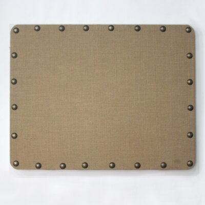Linon Burlap Bulletin Board