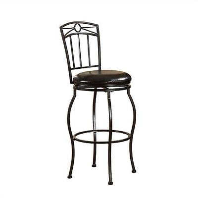 "Linon 30"" Circle Top Metal Bar Stool"