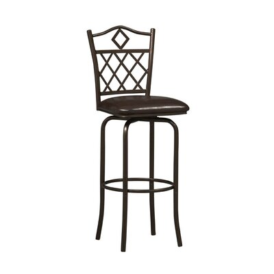 "Linon 30"" Diamonds Bar Stool"