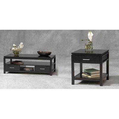 Linon Sutton Plasma Coffee Table Set