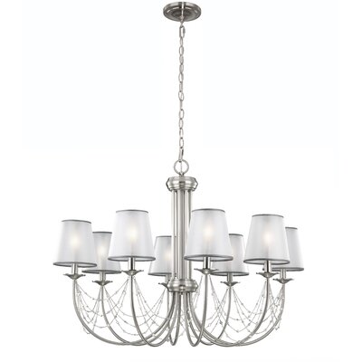 Aveline 8 Light Chandelier