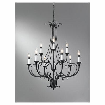 Peyton 9 Light Chandelier