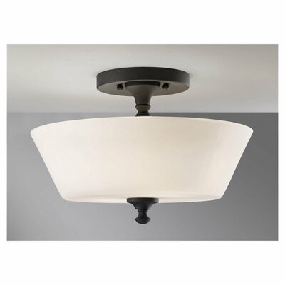 Feiss Peyton 2 Light Semi Flush Mount