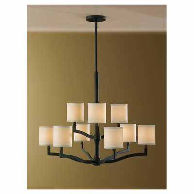 Feiss Stelle 9 Light Chandelier
