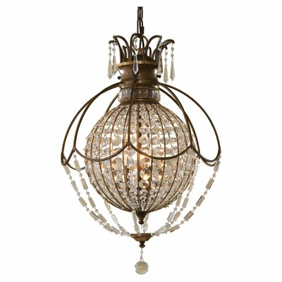 Feiss Bellini 3 Light Hall Chandelier